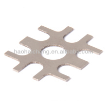 OEM precision stainless steel hole 0.1~3mm flat stamped flange for car parts