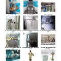 Dn15 NSF61 Latão Válvula de esfera elétrica Preço Cr202 Dois fios