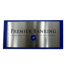 Etched and Paint, Indicator Signs Stainless Steel Signage