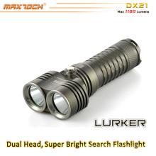 Maxtoch DX21 alta potencia 2pcs Cree XML2 U2 búsqueda LED luz