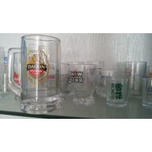 Imprimir Copas de vidrio de publicidad de bebidas Vidrio Kb-Hn0598
