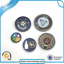 Insignia promocional del Pin de la solapa del logotipo del metal del imán del diseño personalizado