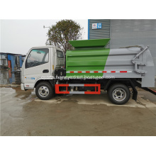 Garbage truck exported to middle east for sale