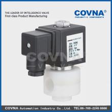 Electrovanne anti-corrosive diaphragme, 2position eau de mer à 2 voies Matériau en PTFE Electrovanne 1 pouce 220V