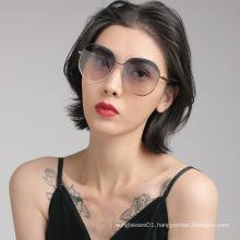 New polarized fashion women polygon luxury wholesale branded sunglasses