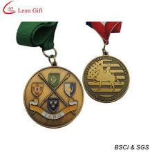 Пользовательские золотой награды медаль для сувенирные (LM1264)