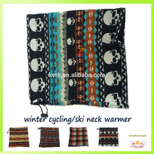 Polar fleece hot sale balaclava neck warmer ski scarf