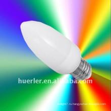 Более низкая мощность 1.5w e27 светодиодные свечи