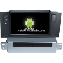 FABRIK! Android System Auto Multimedia-Player für Citroen C4L mit GPS, Bluetooth, 3G, iPod, Spiele, Dual Zone, Lenkradsteuerung
