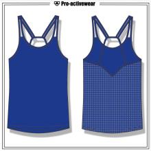 Großhandel kundenspezifische Frauen Gym Tank Top Fitness Tank Top