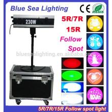5R / 7R / 15R mini siga spot luz palco iluminação casamento luzes