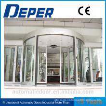 Puerta plegable de cristal de acero sin marco exterior / puerta de Bifold