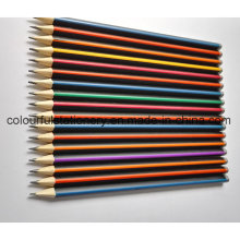 Wholesale Stripped Hb Pencil with Dipped Ending