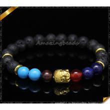 Горячие продавая оптовые ювелирные изделия браслетов способа шариков лавы (CB098)