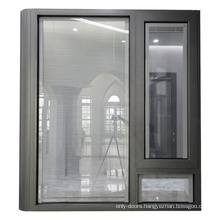 China manufacture double glazed aluminum cheap price bay window