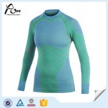 Lange Hülse, die Frauen thermische Unterwäsche / Unterhemd abnimmt