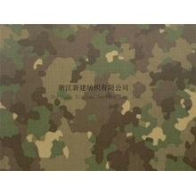 Cotton Nylon Interweave Camouflage Fabric for Combat Uniform