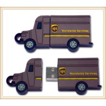 PVC Truck Shape USB Pendrive for Mobile Phone (EP056)