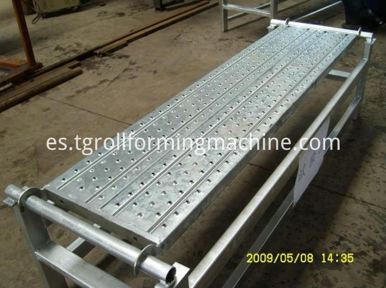 Scaffolding Footplate Roll Forming Machine