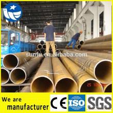 ERW carbone ASTM A572 Gr.60 tube rond de structure