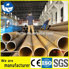 Factory supply ISO 14001 black welded Q345B steel pipe price