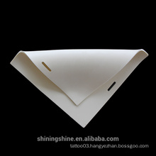 2015 Hot sale 20x20*0.4cm arm rubber practic skin for tattoo artist