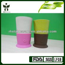 Эко дружественные чашки многоразового использования с рукавом