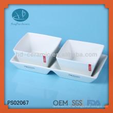 Keramik-Chip & Dip-Schüssel-Set, Tauchen Schüssel-Set
