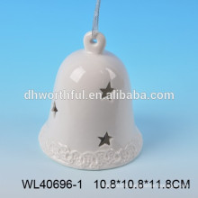 2016 high quality ceramic Christmas bell for wholesale