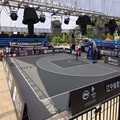 SES Flex Joint Modular Courts Tile Sports Flooring