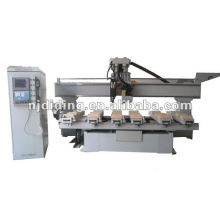 CNC WOODWORKING MACHINE CENTER with multi-drill saw and ACT engrave spindle DL-2613