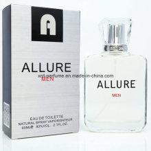 Customized Fashion Design Charming Eau De Toilette Perfume