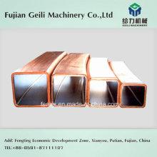 Tubo de molde de cobre para fundición de acero / fundición de metal