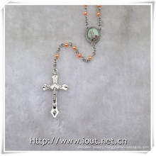 New Pope Francis Rosary, Plastic Rosaries (IO-cr386)