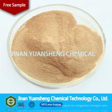 Sulfonato de formaldehído de naftaleno sódico Mf para dispersante textil