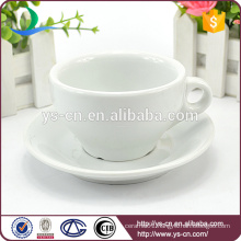 2015 New arrive porcelain tea cup and saucer for hot sale