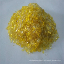 Yellow Glass Sand, Crystal Glass for Architectural Glass
