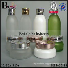 120ml cosmetic glass jars and bottles, empty packaging bottles, skin care 40ml cosmetic bottle