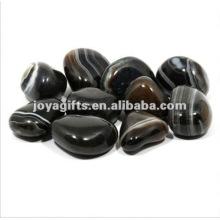 Black Onyx pedra de seixos de pedras preciosas
