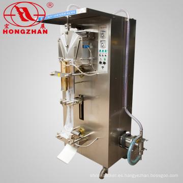Líquido de relleno sellado de la máquina con el lado 3 lados almohada tipo sello de embalaje del bolso de agua bebida de la leche