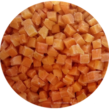 Frozen vegetables iqf frozen diced pumpkin