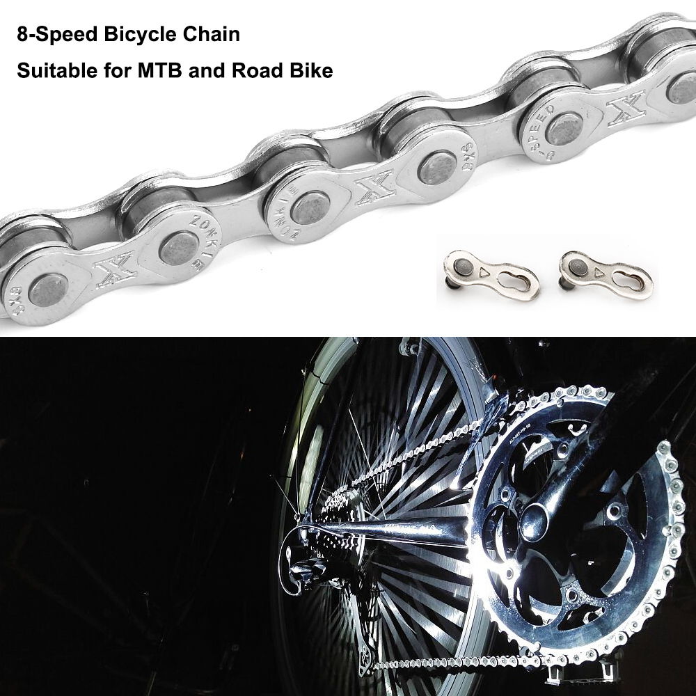 ZK-X8S8 5/6/7/8-Speed Bicycle Chain