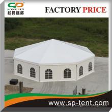 Vente chaude de Tente Polygon à grande vente pour vente avec décoration de doublure