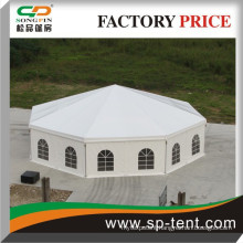 hot selling large Event Show Polygon Tent For Sale with lining decoration