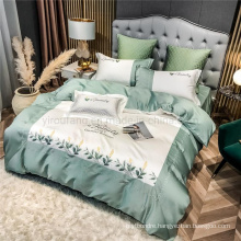 Discount Inn King Bed with Logo Bed Sheet Set 4 PCS