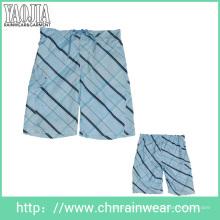 Yj-3009 Mens Printed Microfiber Leisure Board Shorts