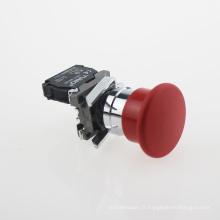 Lay4-Bc42 Bouton-poussoir d'urgence à tête de champignon Nc rouge (série XB2)