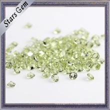 1.5mm Natural Peridot Gemstone para la joyería