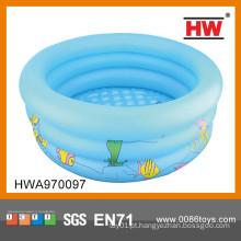 Venda quente 90CM piscina inflável do bebê do PVC