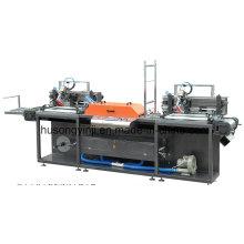 2-красочная ленточная шелкотрафаретная печатная машина